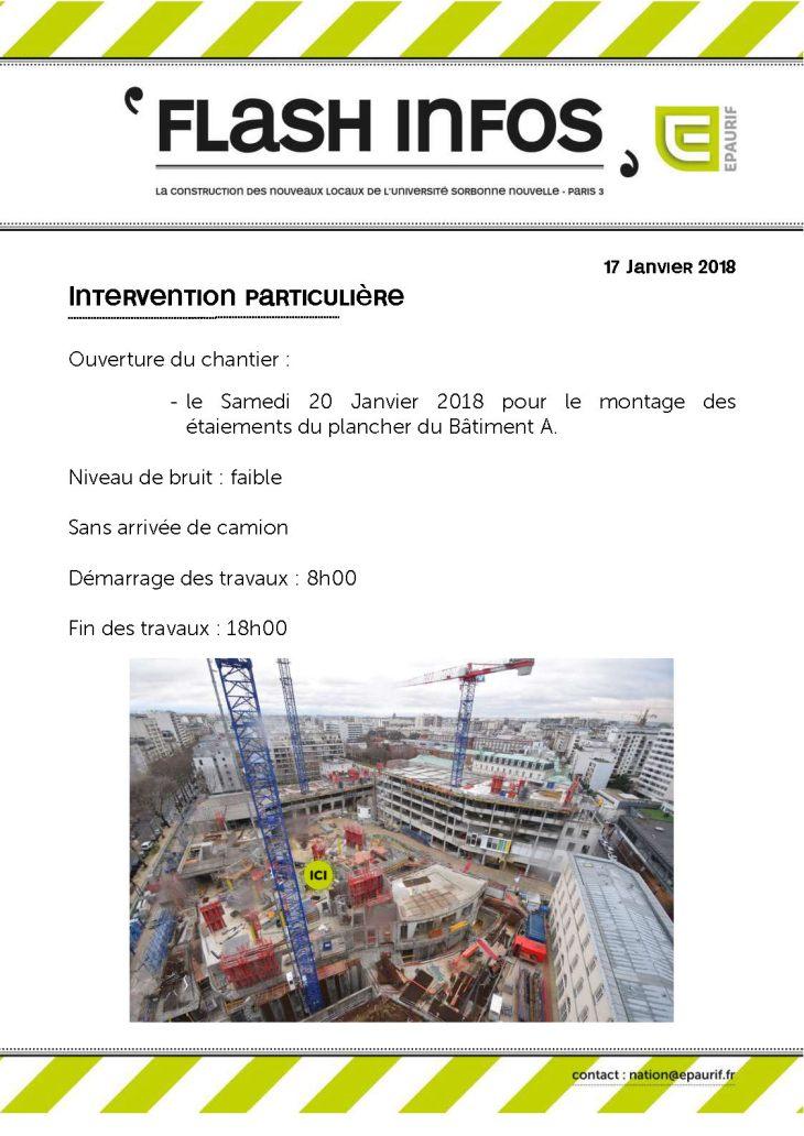 Flash Info - Ouverture du chantier samedi 20 janvier 2018_Page_1